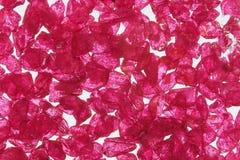 粗砺的红宝石 库存图片