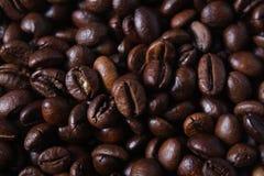 粗粒咖啡豆 免版税库存照片