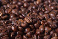 粗粒咖啡豆 免版税库存图片