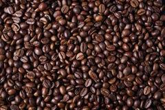 粗粒咖啡豆 库存图片
