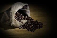 粗粒咖啡豆 图库摄影