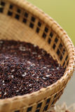 粗糙的米或半上白米背景 免版税库存照片