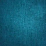 粗糙的蓝色帆布纹理背景 图库摄影