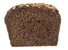 粗糙的黑麦面包 库存图片