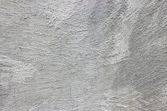 粗糙的puttying的水泥墙壁 库存图片