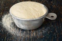 粗面粉面粉 免版税库存图片