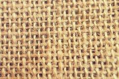 粗麻布纺织品纹理  库存图片