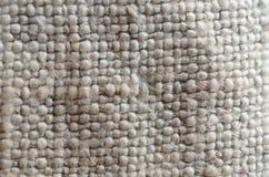 粗麻布纺织品纹理  库存照片