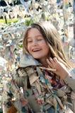 粘性儿童迷宫 库存图片