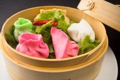 粤式点心亚洲人食物 免版税库存图片