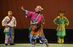 """粤陵孩子的北京Opera""""Yue teenager† 库存图片"""
