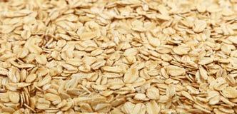 粥燕麦沙粒关闭背景 免版税库存图片