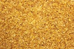 粥碾碎干小麦 背景许多饺子的食物非常肉 免版税库存图片