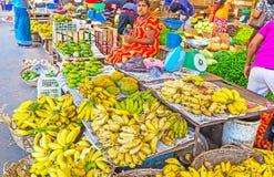 粮食市场 库存照片