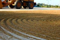 粮食干燥 免版税图库摄影
