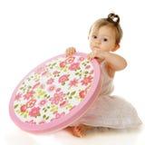 精制的婴孩,精制的配件箱 免版税库存图片