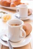 精力充沛唤醒的咖啡 免版税库存图片