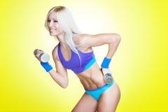精力充沛的锻炼 免版税库存图片