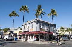 精品店在基韦斯特岛,佛罗里达 免版税库存照片