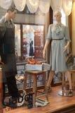 精品店gabor穿上鞋子视窗 免版税库存图片