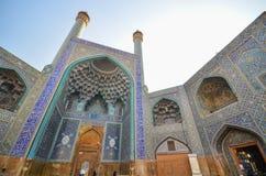 精妙的阿訇清真寺在Esfahan 图库摄影