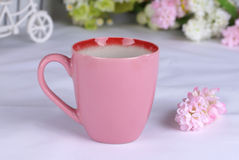 精妙陶瓷的杯子 免版税库存图片