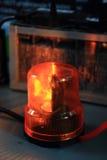 精密橙色警报器 免版税库存图片