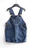 精密背景的蓝色牛仔裤 库存照片