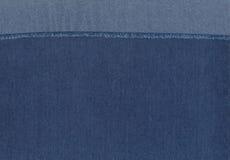 精密背景的蓝色牛仔裤 图库摄影