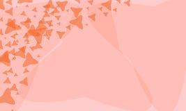 精巧被构造的背景星 免版税库存照片