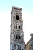 精心制作的塔在佛罗伦萨,意大利 库存照片