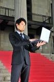 精明2个亚洲人的执行委员 免版税库存照片