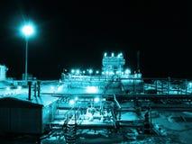 精炼厂 库存图片