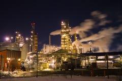 精炼厂 免版税库存照片