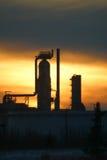 精炼厂 免版税库存图片
