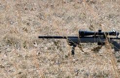 精确度步枪射击 库存图片