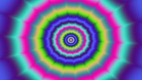 精神分析的样式无缝的圈4K UHD 向量例证