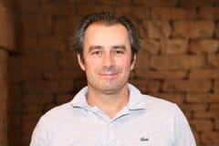 精神前高尔夫球运动员吉恩van de维尔德2015年11月在南非 免版税库存照片