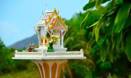 精神房子在泰国 免版税库存图片
