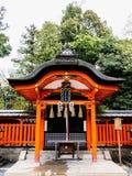 精神房子Fushimi-Inari寺庙 免版税图库摄影