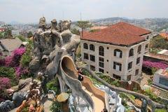 精神病院在大叻市,越南 图库摄影