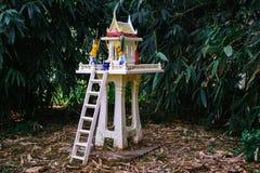 精神的泰国房子 免版税库存照片