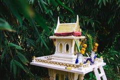 精神的泰国房子 免版税库存图片