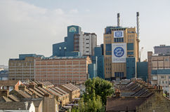 精糖厂,伦敦 库存照片