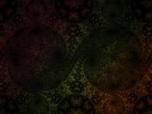 精美分数维抽象样式卷毛泡的螺旋引起artisticbubble 库存图片
