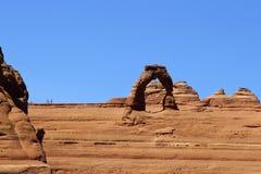 精美曲拱大概是最著名的曲拱在世界上 Utha,美国 免版税库存照片