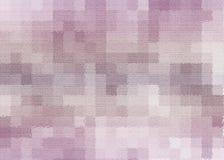 精美桃红色正方形织地不很细抽象背景 免版税图库摄影