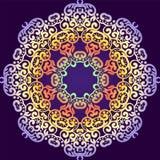 精美漩涡坛场样式 向量背景 库存照片