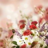 精美玫瑰花束 免版税图库摄影