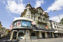 精采旅馆在烟特勒根 免版税库存照片